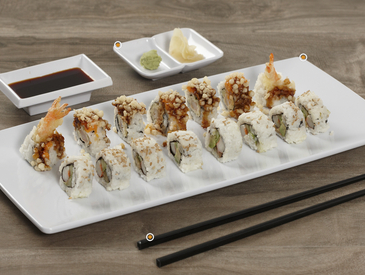 10. Creative Ways to Serve Sushi