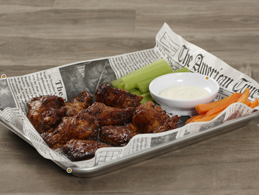 1. Creative Ways to Serve Wings