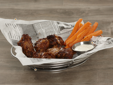 13. Creative Ways to Serve Wings