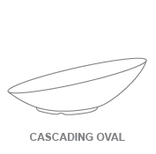 Bowls:Cascading Oval