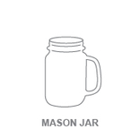 Barware:Mason Jar