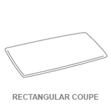Display Trays:Rectangular Coupe