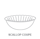Bowls:Scallop Coupe