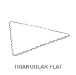Display Trays:Triangular Flat