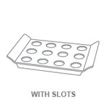 Display Trays:With Slots