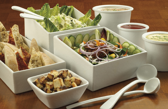 Bugambilia® Classic Inserts, Food Pans, & Salad Bowls