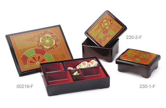 """10.5"""" x 8.25"""" Bento Box with Cover"""