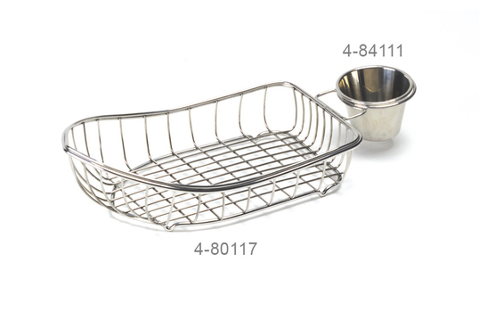 "9.5"" x 5"" Boat Basket w/ 1 Holder"