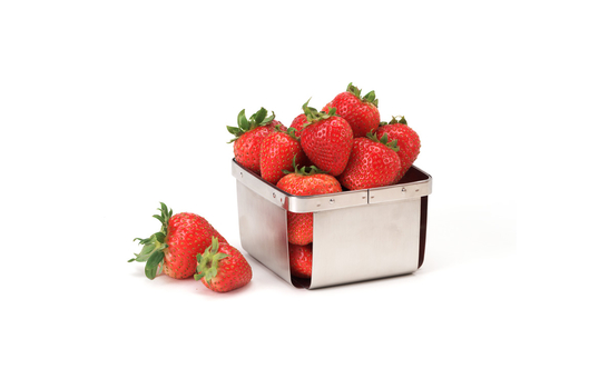 "4.5"" Square Berry Basket"