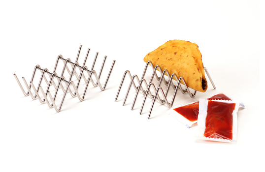"""4"""" x 2"""" Holder for 2 or 3 Tacos"""