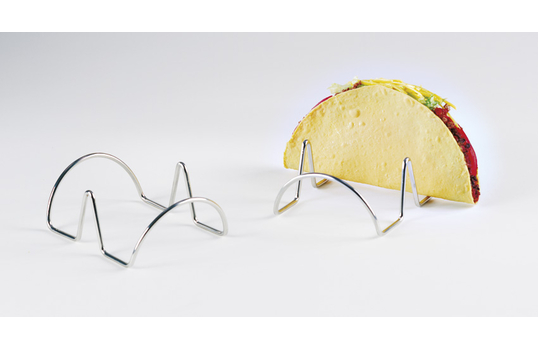 """4.25"""" x 3.5"""" Holder for 2 Tacos"""