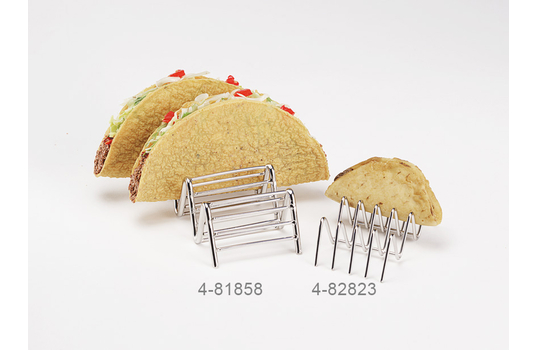 """6"""" x 2.5"""" Holder for 3 or 4 Tacos"""