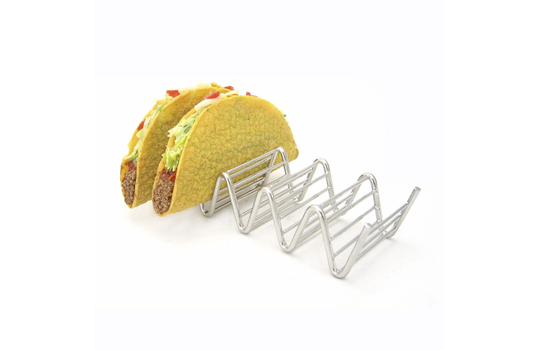 "7.75"" x 2.5"" Holder for 4 or 5 Tacos"