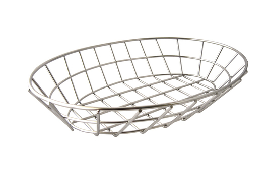 "12"" x 8.5"" Oval Grid Basket"