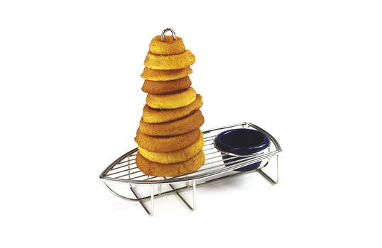 """9.5"""" x 5"""" Onion Ring Tower Boat w/ 1 Holder"""