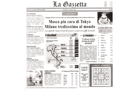 "12"" x 12"" Food-Safe Italian Newsprint Liner, White"