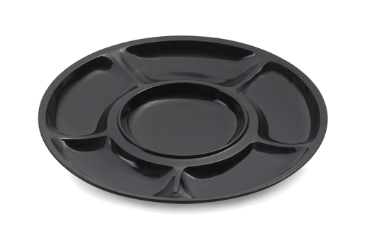 "14"" 6-Compartment Plate"