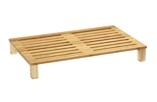 Full Size Slotted Bread Cutting Board