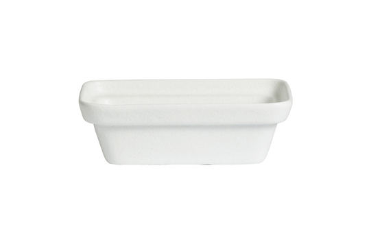 1.6 qt. M Rectangular China Bowl, Mod Finish