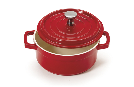 8 oz. Mini Induction Ready Round Bistro Pot w/ Lid