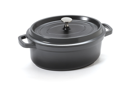 3.5 qt. Induction Ready Oval Dutch Oven w/ Lid