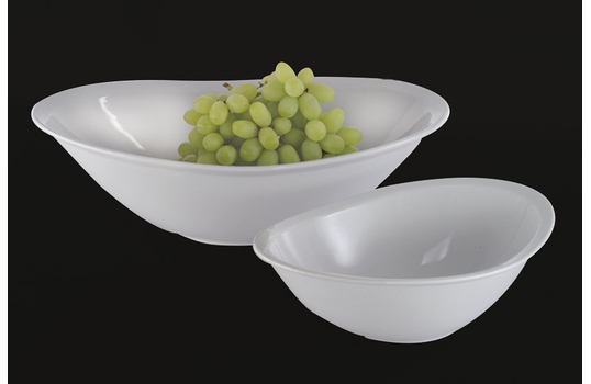 4.5 qt. Ceramic Oval Bowl