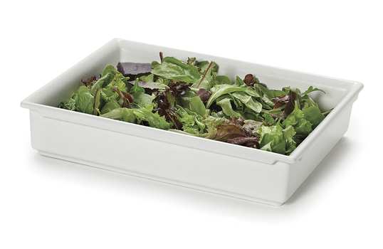 "1/2 Size Fit Perfect™ Stackable Food Pan 2.5"" deep, 3.75 qt."