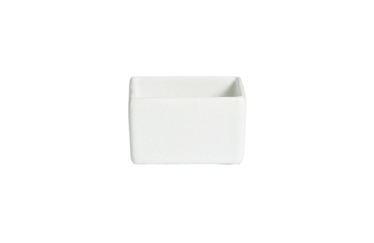 7.9 qt. Square Straight Sided Salad Bowl, Mod Finish