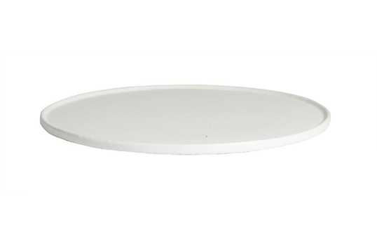 """12.2"""" X Small Round Disc with Rim, Classic Finish"""
