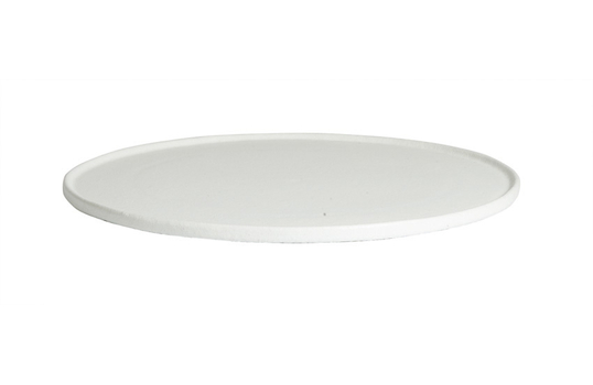 """17.7"""" Large Round Disc with Rim"""
