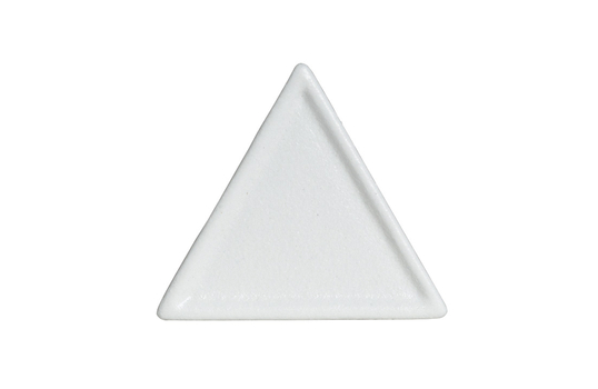 "6"" x 6"" Triangle Buffet Platter, Classic Finish"