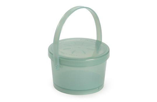12 oz. Rim-Full, Polypropylene, Soup Reusable Container with Handle
