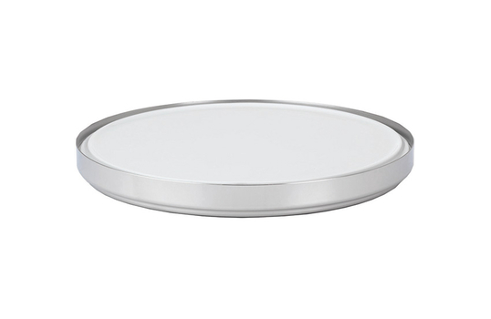 "16.1"" Cold Food Display Set with Stainless Steel Base"