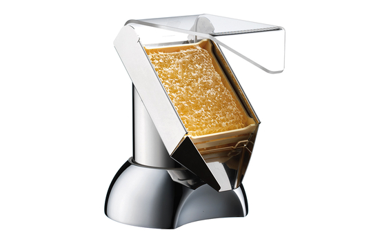 """Honey Dispenser for Honeycombs with Base, 7.9"""" x 6.7"""", 9.1"""" tall"""