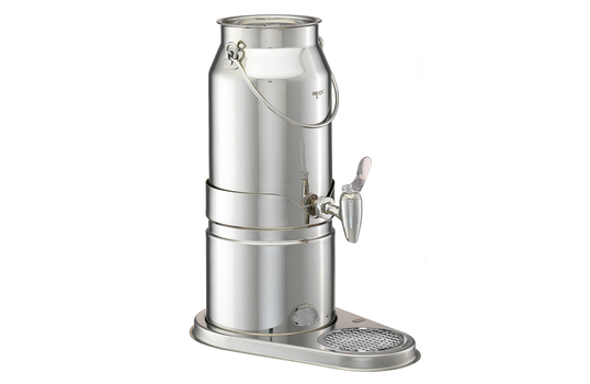 1.3 gal Stainless Steel Milk Dispenser Set