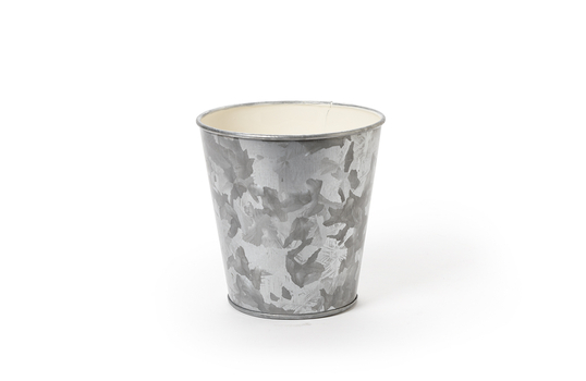 "4"" Dia. Galvanized French Fry Cup"