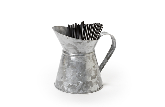 "4.75"" Dia. Galvanized Pitcher"