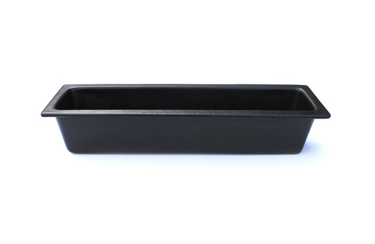 3.3 qt. Half Size Long Food Pan 2/4, Classic Finish