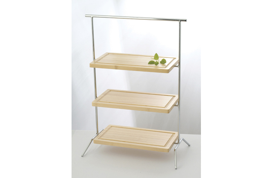 "20"" x 9.25"" Rectangular 2-Tier Riser"
