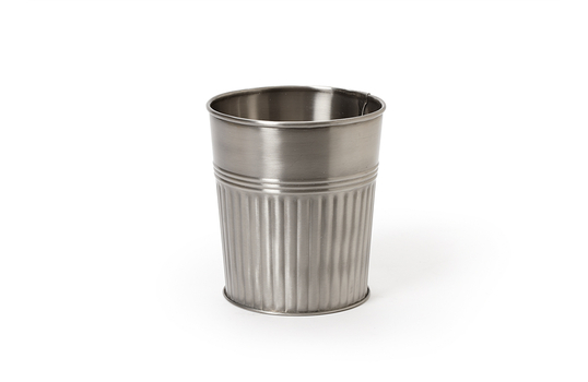 """3.6"""" Dia. Stainless Steel French Fry Cup"""