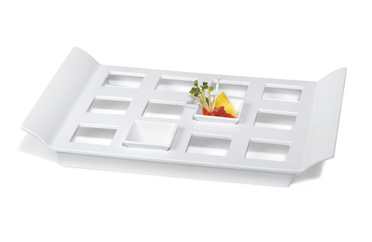 "18"" x 13"" Tray with 12 Square Slots for ML-257"