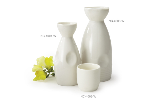 9 oz. Porcelain Sake Bottle