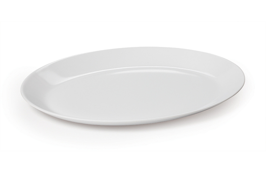 """14"""" x 10.75""""Oval Coupe Platter"""