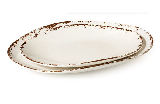 "15"" x 11"" Flare Oval Platter"