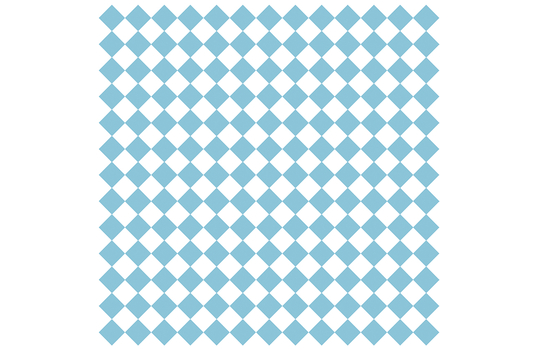 "12"" x 12"" Grease-Resistant Food-Safe Sandwich Wrap Paper / Deli Wrap Paper / Blue Checker on White Paper"