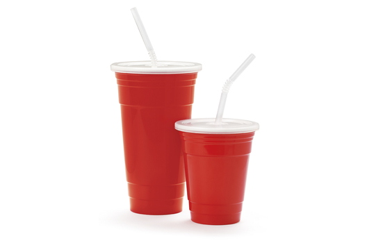 32 oz. Reusable Tumbler Set w/Lid & Straw