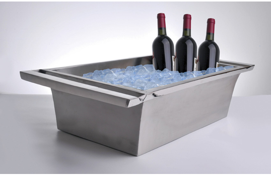 "26.5"" x 16"" Double-Walled Beverage Tub"
