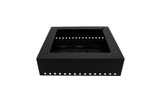 """Strata Square Base Unit, 16.5"""" x 16.5"""" x 5.25 """"H, for Round Insert, with Protective Case"""