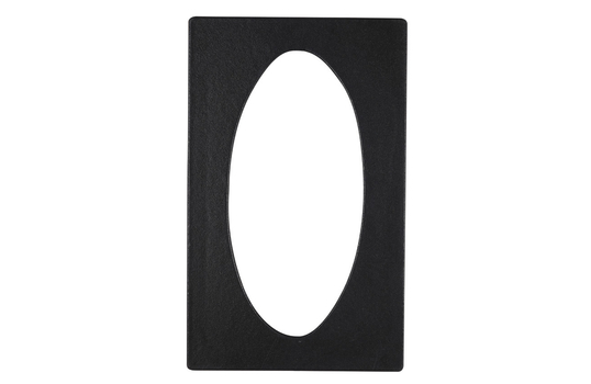 """21.69"""" x 13.25"""" Single Tile with One Oval opening"""