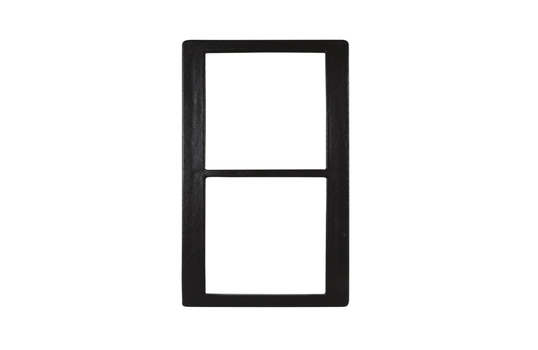 """21.69"""" x 13.25"""" Single Tile withTwo Square openings, Classic Finish"""